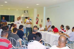 Reunião dia 23/02, para organizar o Fórum