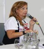 Eugênia Maria Ramos Pereira dos Santos. Diretora do Sindicato dos Metroviários e Conexos de Pernambuco (Sindmetro-PE)