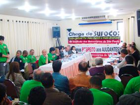 Reunião de Negociação da Campanha Salarial 2011
