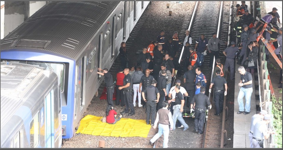 Acidente na Linha 3 - Vermelha