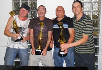 Campeões do torneio Truco em Tio 2012