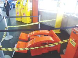 Máquinas de carregamento de Bilhete Único sofrem roubos