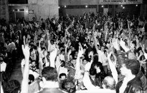 assembéial no sindicato dos metalurgicos de são paulo campanha salarial - nov/84
