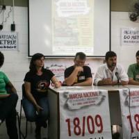 Coletiva de Imprensa: Marcha Nacional dos Trabalhadores e Trabalhadoras