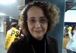Luciana Genro defende a reintegração dos metroviários