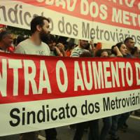 Alckmin e Haddad aumentam tarifas do metrô, trens e ônibus a partir de 9/1
