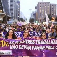 8 de março na Paulista