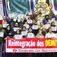 Metroviários demitidos ganham causa na Justiça