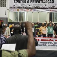 Encontro Internacional Contra a Privatização