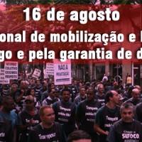 16/8: Dia nacional em defesa dos direitos