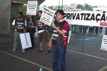 1º de agosto – Dia mundial Contra a Privatizacao