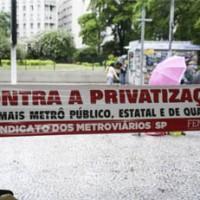 Pesquisa confirma: população rejeita privatizações