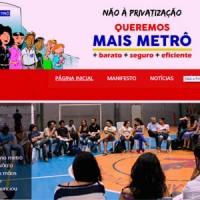 Campanha contra a privatização tem novo portal na web