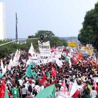 Ocupar as ruas do Brasil em defesa de nossa aposentadoria e contra a PEC 55!