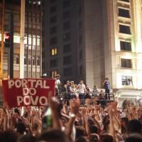 Solidariedade à ocupação da Avenida Paulista