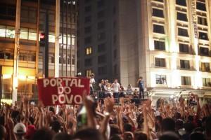 Assembleia do Movimento dos Trabalhadores Sem Teto (MTST) deliberou em 15/2 pela ocupação de espaço na Avenida Paulista em defesa de políticas de moradia pelo governo federal. Foto: Paulo Iannone/FramePhoto