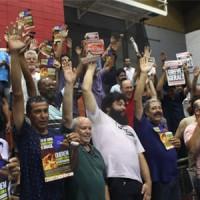 Assembleia aprova greve em 28/4!
