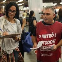 9 a cada 10 usuários do metrô de SP são contra a privatização das linhas