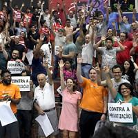 Assembleia aprova plano de lutas contra a privatização