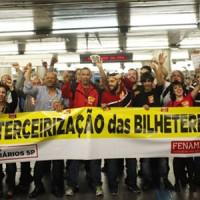 Metrô retira quebra de caixa e risco de vida de trabalhadores na Linha 5