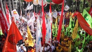 PROTESTO CONTRA A REFORMA TRABALHISTA