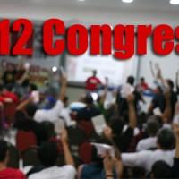 12º Congresso: mudanças nos prazos
