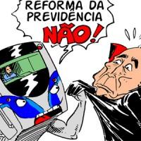 Luta contra a Reforma da Previdência continua!