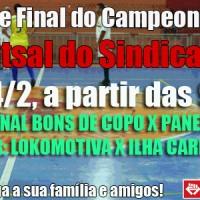 Final do Campeonato de Futsal 2017/2018