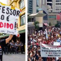 Todo apoio à greve dos professores municipais!