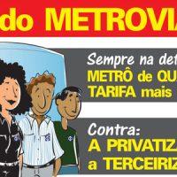 26/10: Dia do Metroviário