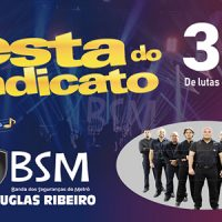 Aniversário do Sindicato – Festa terá show da Banda dos Seguranças do Metrô