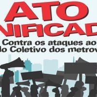 31/1: Ato unificado em defesa dos direitos e do Acordo Coletivo