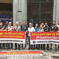 Leilão confirma denúncia do Sindicato: CCR leva a L-15