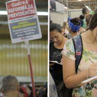 Sindicato realiza abaixo-assinado contra a reforma da Previdência