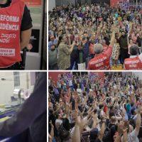 Forte mobilização garantiu direitos!