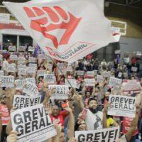 Participação dos metroviários fortalece um grande dia de luta em SP contra a Reforma da Previdência