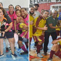 T&P e Bons de Copo são os grandes campeões do Futsal