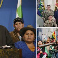Repudiamos o golpe de Estado na Bolívia!