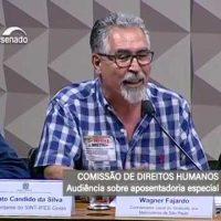 Sindicato participa de Audiência Pública sobre aposentadoria especial no Senado