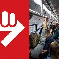 Metrô só deve transportar passageiros com necessidades emergenciais