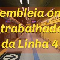 Metroviário da ViaQuatro, vote a proposta de Acordo Coletivo