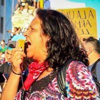 Liberdade para os presos políticos no Chile e em defesa de Maria Rivera