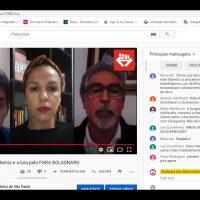 Live do Sindicato – A pandemia e a luta pelo FORA BOLSONARO