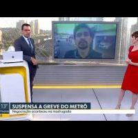 Altino de Melo fala sobre a luta dos metroviários no Bom Dia São Paulo