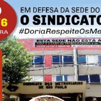 23/6: Ato em defesa da sede do Sindicato