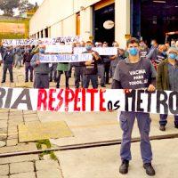Campanha Salarial 2021: A luta continua! Metrô descumpre acordo de paz!